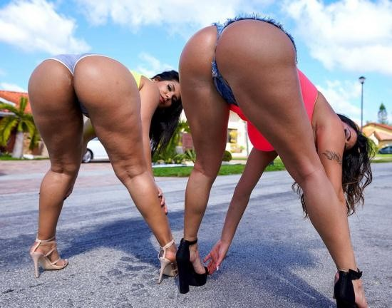 AssParade/BangBros - Julianna Vega, Rose Monroe - Latina Booty Power (HD/720p/1.87 GB)