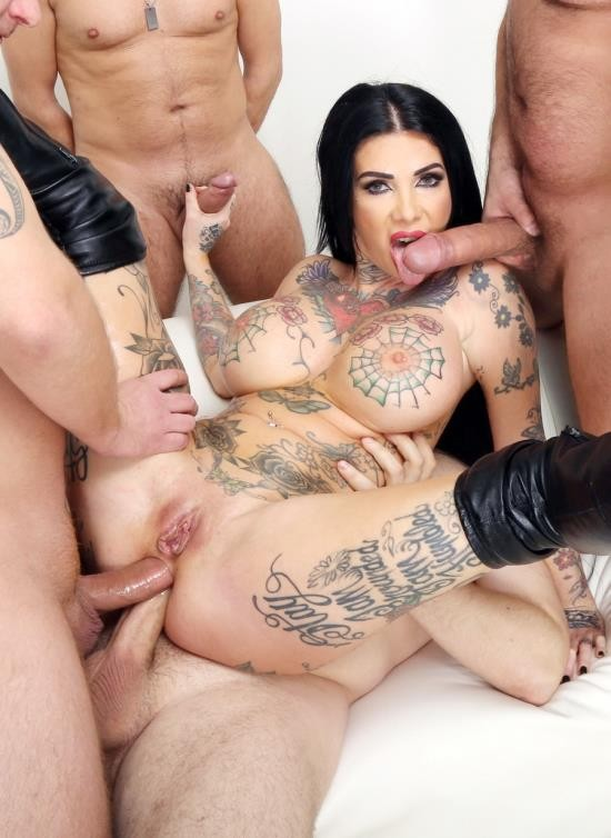 AnalVids, LegalPorno - Megan Inky - DAP Destination Megan Inky 4 On 1 Balls Deep Anal, Good Gapes, Rough Sex And Swallow GIO1795 (HD/1.61 GB)
