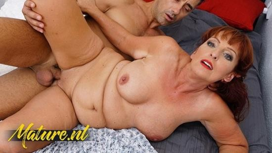 MatureNL - UnknowN - Redhead MILF Gets Her Mouth Filled With Cum (FullHD/1080p/428 MB)
