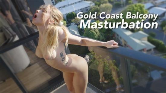 Porn - SecretCrush - Fucking Dildo On Gold Coast Queensland Balcony (FullHD/1080p/454 MB)