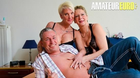 AmateurEuro - Unknown - Big Tits Amateur German Grannies Crazy Foursome Fucking (FullHD/1080p/605 MB)
