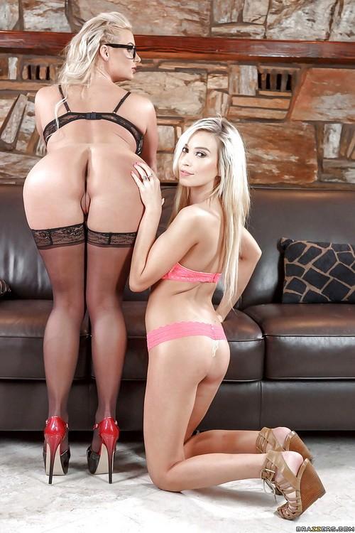 MomsInControl/Brazzers - Kylie Nicole, Phoenix Marie - Cum-Petitive Pricing (HD/720p/2.39 GB)