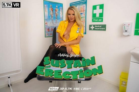 WankitnowVR - Ashley Jayne - Sustain Your Erection (UltraHD/4K/2880p/2.92 GB)