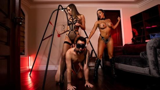 BrazzersExxtra/Brazzers - Desiree Dulce, Luna Star - The Dommes Next Door: Double Dommed (SD/400p/263 MB)