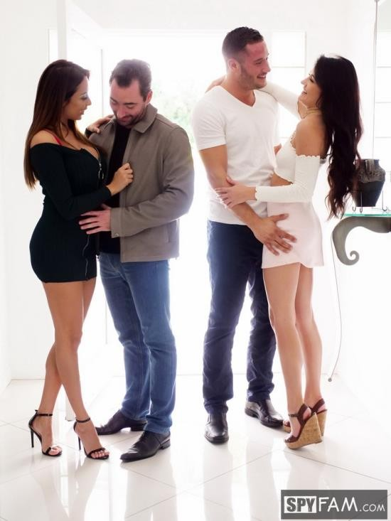 SpyFam - Adria Rae, Anissa Kate - Thanksgiving Family Fuckfest (FullHD/1080p/1.71 GB)