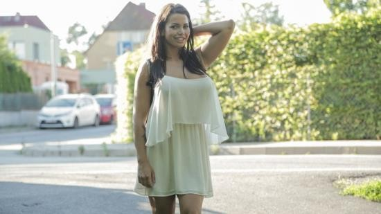 FakeHub/PublicAgent - Chloe Lamour - Big boobs jizzed on for cash (HD/720p/1.04 GB)