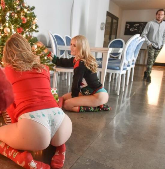 StepSiblings/TeamSkeet - Britney Light, Mazzy Grace - A Package From Santa (FullHD/1080p/3.93 GB)