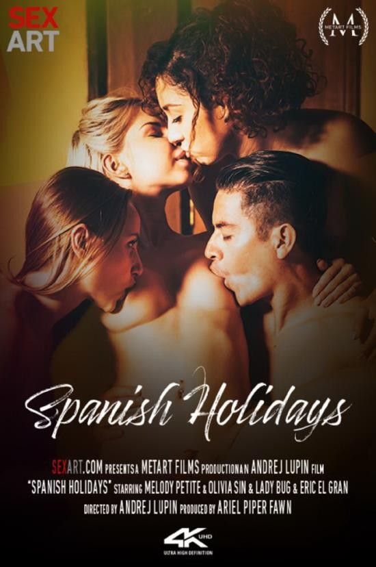 SexArt/MetArt - Lady Bug, Melody Petite, Olivia Sin, Eric El Gran - Spanish Holidays (FullHD/1080p/1.36 GB)