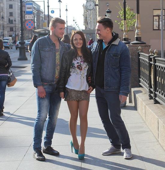 MyPickupGirls/WTFPass - Dominika, Igor, Egor - Super Hot Public Porn Video With a Cheating Wife (HD/720p/1.16 GB)