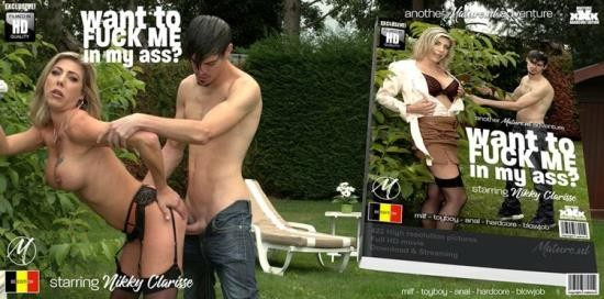 Mature.nl/Mature.eu - Nikky Clarisse - Hot MILF getting fucked in the ass by her toy boy gardner (FullHD/1080p/2.85 GB)
