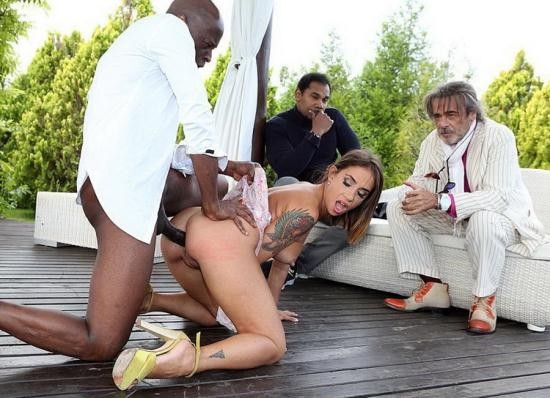 PinkoClub - Malena - Depraved and slutty Malena drilled in the ass by the big black cock (FullHD/1080p/1.48 GB)