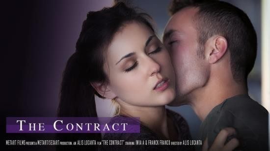SexArt/MetArt - Iwia A - The Contract (FullHD/1080p/1.29 GB)