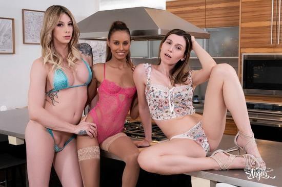 TransAngels - Korra Del Rio, Casey Kisses, Kylie Le Beau - Greedy Girls (FullHD/1080p/697 MB)