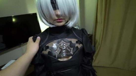 OnlyFans - No1syG - 2B Nier Automata porn cosplay part 1 (FullHD/1080p/694 MB)