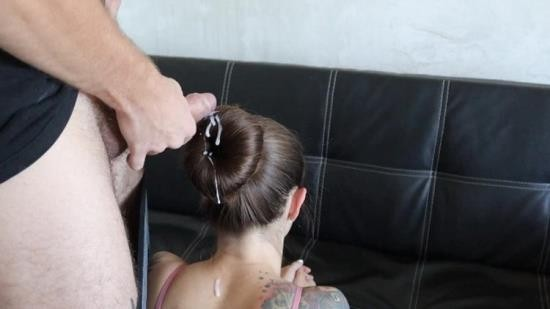 OnlyFans - PerfectDick88 - Cumming on donut hair bun Cum on long silky hair (FullHD/1080p/337 MB)