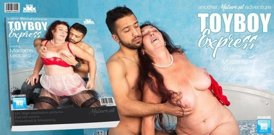 Mature.nl - Madame Leopard (58) - The toyboy express is coming and Madame Leopard is getting on board (FullHD/1080p/1.74 GB)