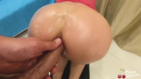 Porn - Cherry Aleksa - Housewife Oil Masturbate Vibrator and had Anal Sex - Ass to Mouth (FullHD/1080p/311 MB)