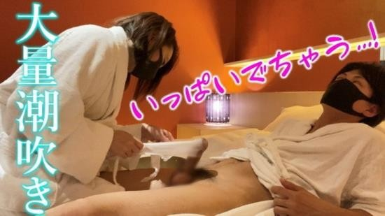 OnlyFans - Emuyumi Couple - Massive Squirting and Cumshot with Lotion gauze and Glans Handjob - Japanese Amateur Couple POV (FullHD/1080p/319 MB)
