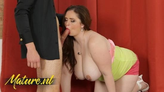 MilfCurves - Unknown - Busty Brunette MILF Sirale Likes Fucking Sucking Younger Guys (FullHD/1080p/395 MB)