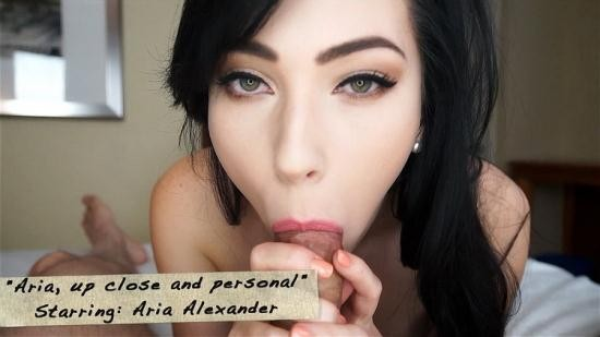 Mark's head bobbers and hand jobbers/Clips4Sale - Aria Alexander - Aria, up close and personal (FullHD/1080p/1.11 GB)