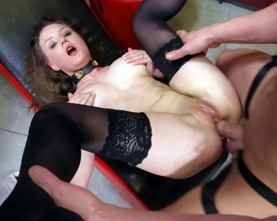 AnalVids, LegalPorno - Baby Bamby - Daddy Punishes Little Baby Bamby! Physical Destruction, Dirty Toilet, Brush In Pussy NRX115 (HD/1.37 GB)