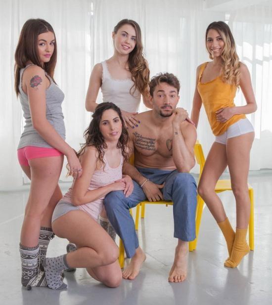 Private - Elle Rose, Lara Romero, Linda del Sol, Baby Nicols - Share a stallion (FullHD/1080p/2.05 GB)