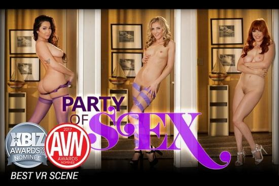 HologirlsVR - Penny Pax, Karla Kush, Karlee Grey - Party of Sex (UltraHD/4K/2160p/2.33 GB)