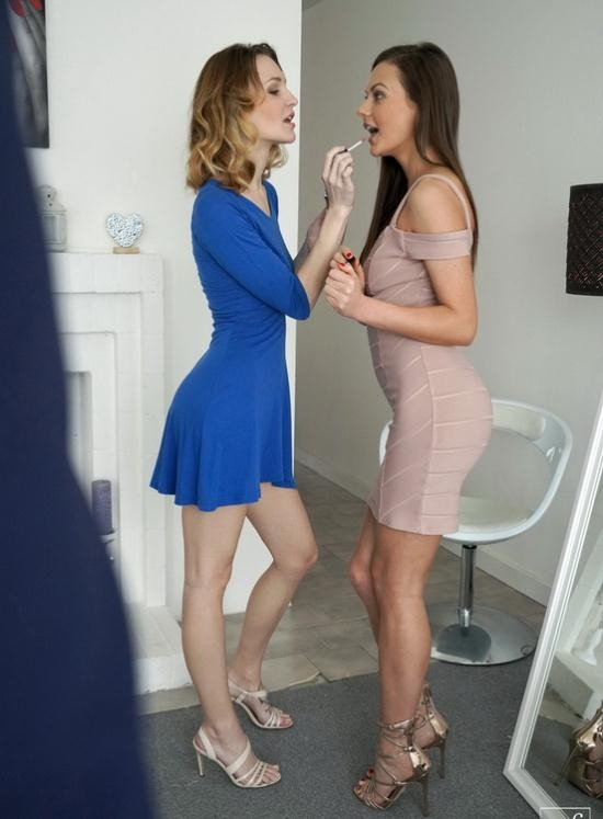 NubileFilms - Belle Claire, Tina Kay - Twice As Nice (FullHD/1080p/1.36 GB)