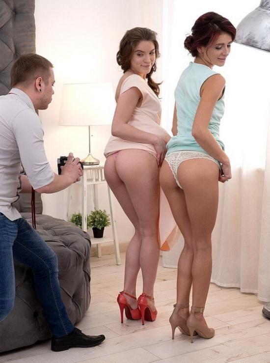 FirstBGG/TeenMegaWorld - Evelina Darling, Kate Rich - Glam ladies get orgy orgasms (FullHD/1080p/2.03 GB)