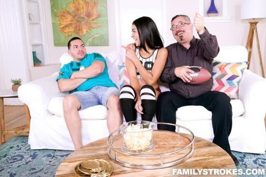FamilyStrokes - Vienna Black - The Stepsis Conversion (FullHD/1080p/3.34 GB)