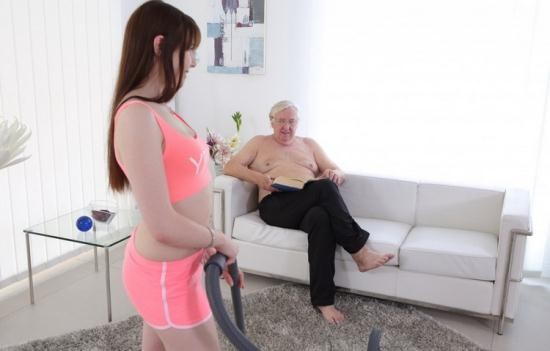 Old-n-Young/TeenMegaWorld - Luna Rival - Old man makes sweetie kneel (FullHD/1080p/1.70 GB)