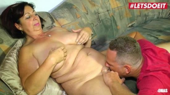 XXXOmas - Unknown - Chubby German Mature Rides Cock While Husband is Away (FullHD/1080p/519 MB)