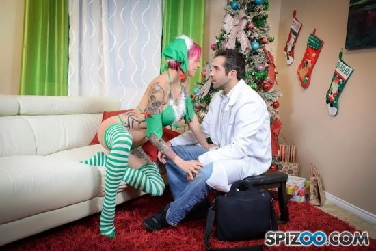 Spizoo - Anna Bell Peaks - Anna Bell Peaks Crazy Christmas (FullHD/1080p/1.09 GB)