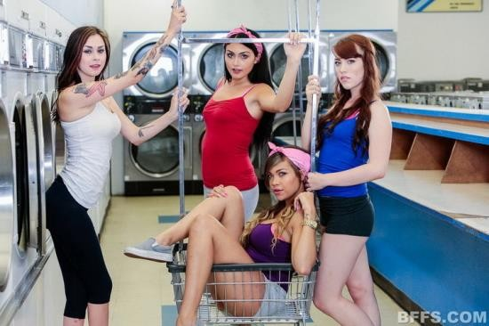 BFFS - Cassidy Banks, Kylie Sinner, Vera Drake - Laundry Day (FullHD/1080p/3.14 GB)