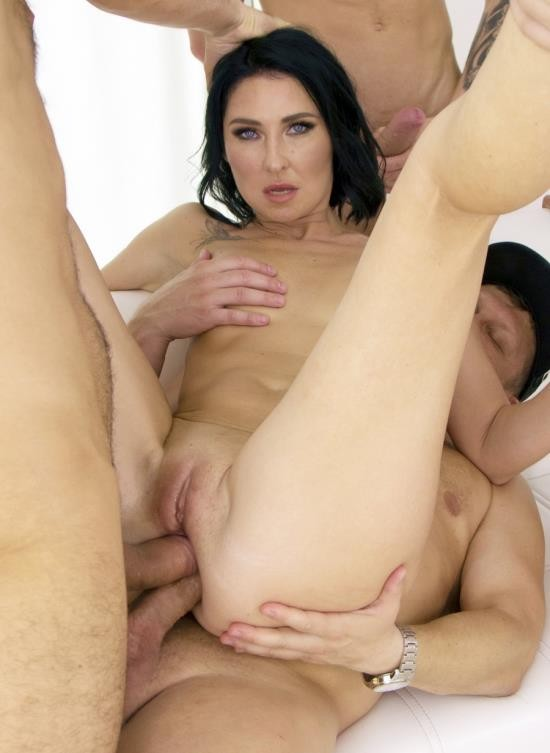 AnalVids, LegalPorno - Eva Black - First DAP 4 On 1 For Eva Black With DP, Balls Deep Anal, Pee Drink, Gapes And Cum In Mouth VG016 (HD/2.22 GB)