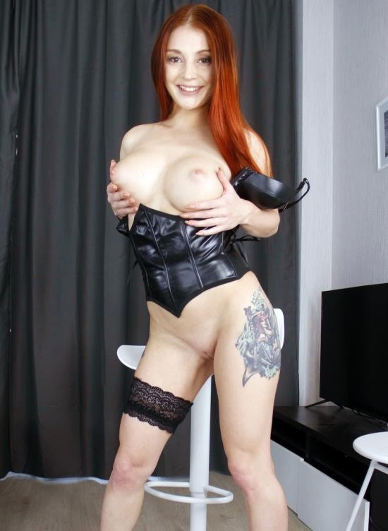 AnalVids, LegalPorno - Lelya Mult - Redhead Lelya Mult With Big Tits Hard Fucked In The Ass - Balls Deep Anal - Squirting VK075 (FullHD/3.75 GB)