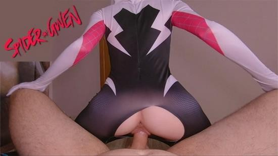 OnlyFans - Anika Spring - Slutty Spider Gwen likes to ride dick (FullHD/1080p/1.52 GB)