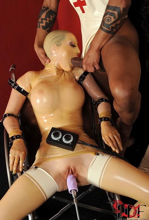 HouseOfTaboo/DDFProd - Kid Jamaica, Franco Roccaforte, Latex Lucy - Tales of the latex sex asylum! (FullHD/1080p/1.57 GB)
