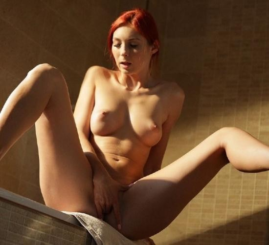 21Naturals/21Sextury - Kattie Gold - Flaming Red (FullHD/1080p/737 MB)