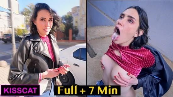 OnlyFans - Kisscat - Cum On Me Like A Pornstar - Public Agent PickUp Student On The Street And Fucked (FullHD/1080p/1.09 GB)