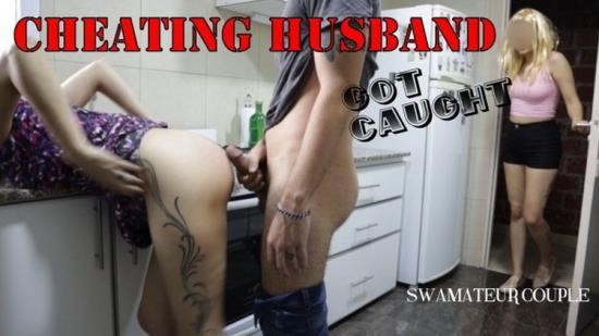 Porn - SWAmateurCouple - CHEATING HUSBAND WAS CAUGHT FUCKING HER WIFE S BFF IN THE KITCHEN (FullHD/1080p/455 MB)