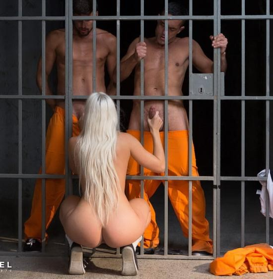 DorcelClub - Blanche Bradburry - Young Inmate Offered To Prisoners Craving Hard Sex (FullHD/1080p/403 MB)