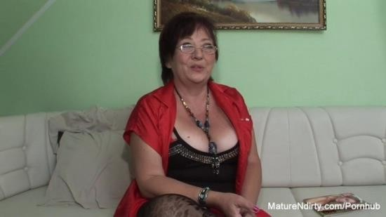 MatureNDirty - Unknown - Insatiable mature keeps her stockings on for fucking (FullHD/1080p/288 MB)