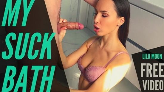 Porn - Lilu Moon - Blowjob Dick and Doggystyle in the Bathroom POV (FullHD/1080p/475 MB)