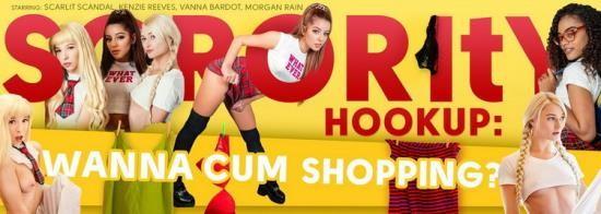 VRBangers - Kenzie Reeves, Morgan Rain, Scarlit Scandal, Vanna Bardot - Sorority Hookup: Wanna Cum Shopping? (UltraHD 2K/1440p/3.88 GB)