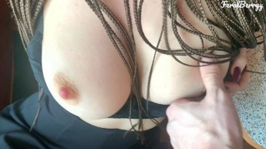 OnlyFans - Feral Berryy - My friends wife s big natural tits are driving me crazy I put my cock in her milky ass FeralBerry (FullHD/1080p/448 MB)
