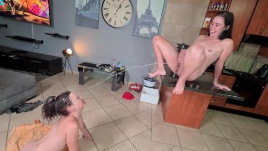 Porn - Kinky-bitch69 - Massive golden shower for my friend human toilet (FullHD/1080p/312 MB)