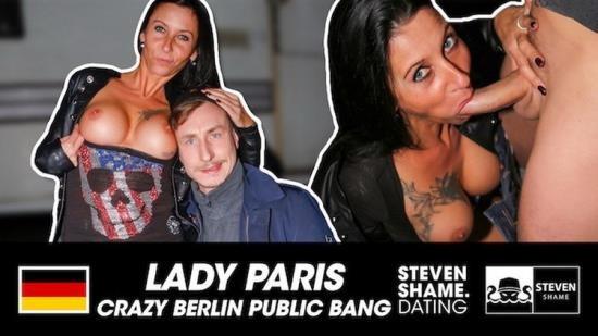 Porn - Unknown - German Slut Lady Paris Banged Beside Main Road Berlin OUTDOOR Steven Shame Dating (FullHD/1080p/573 MB)