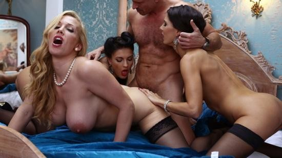 DorcelClub - Honey Daemon, Rebecca More, Alexa Tomas - 3 hot married women for only one man (FullHD/1080p/563 MB)