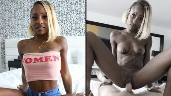 Onlyfans - Harmony Cage - Ebony Harmony Cage Filled Up With Cock Cum (FullHD/1080p/537 MB)